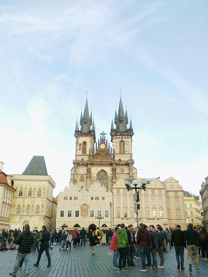 Prague-the journey begins