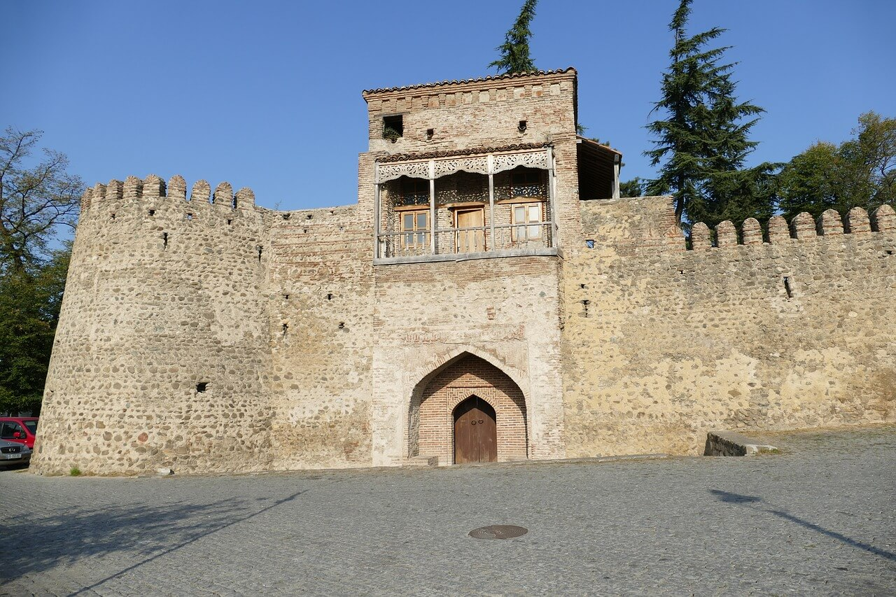 Telavi ბატონის ციხე Bat'onis Tsikhe in central Telavi