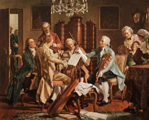 Haydn Playing String Quartet
